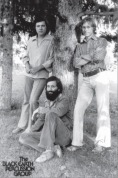 The Blackearth Percussion Group in 1977: Stacey Bowers, Garry Kvistad, Alan Otte