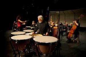 Garry performing the Darius Milhaud Concerto for Percussion (1929) with the Esopus Chamber Orchestra. October 19, 2013