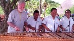 Playing with the boys at Xel-Ha