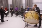 Honor Students rehearsing Kotrab by Rick Kvistad