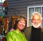 Diane and Garry Kvistad at the NY International Gift Fair in 2007
