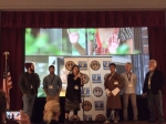 Question and Answer session with the filmmakers and producers at end of screening of the Short Docs. Garry is on the far right.