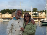 Garry and Diane Kvistad in picturesque Rockport