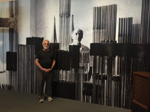 Garry at the MAD Bertoia Exhibit