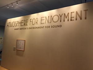 Atmosphere for Enjoyment Harry Bertoia's Environment for Sound