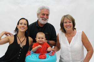 Tasa, Garry, Diane and Lucca