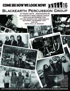 Blackearth Percussion Group PASIC '16 Reunion