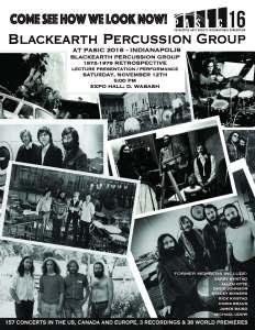 Blackearth Percussion Group PASIC '16 Reunion