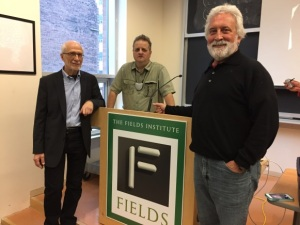 Russell Hartenberger, Stephen Morris, Garry Kvistad